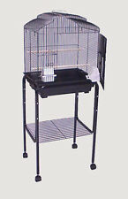"""Rolling Stand For 18"""" x 14"""" or 18"""" x 18"""" Bird Cage (Stand Only) Black-146"""