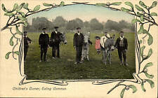 Ealing Common. Children's Corner by T. Brinn, West Ealing. Donkey Rides.