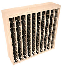 100 Bottle Ponderosa Pine Cabinet-Style Wine Rack Kit. Hand Crafted in the USA