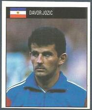 ORBIS 1990 WORLD CUP COLLECTION-#287-YUGOSLAVIA-DAVOR JOZIC