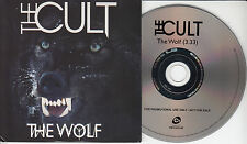THE CULT The Wolf 2012 UK 1-track promo CD
