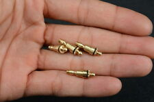 4 X M3 brass Oilers for Steam engine With closures *NEW*