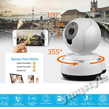 US Wireless WIFI 720P IP Camera Home Network CCTV Security Pan Tilt Night Vision