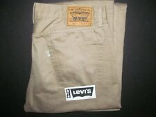 Levi's #505 Tan Denim Jeans Men's Size 36 x 34 Loose Fit Bootcut Worn Twice