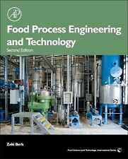 FOOD PROCESS ENGINEERING AND TECHNOLOGY - ZEKI BERK (HARDCOVER) NEW