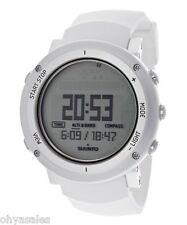 Suunto Core Alu Pure White Digital Silicone Multi Quartz Men's Watch SS018735000