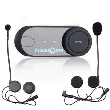 FDC Motorcycle Rider Two-way Wireless Helmet Intercom System Bluetooth Headsets