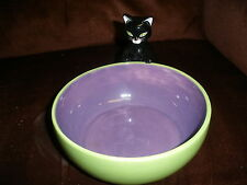 Black Cat Candy, Or Dip Serving Bowl By Harry &David For Halloween