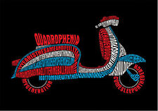 "The Who Pete Townshend QUADROPHENIA MOD Classic Mod Scooter 36"" x 24"" Poster"