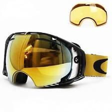 New Oakley Airbrake Snow Goggles Shaun White Gold/24k Gold Iridium & Persm $260