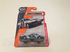 Matchbox 1993 Ford Mustang LX SSP Highway Patrol Police Silver Diecast Model Car