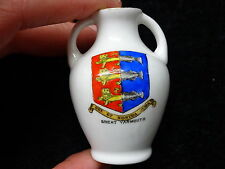 La chine model of the portland vase with great yarmouth crest