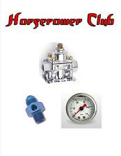 Quick Fuel 30-804 Fuel Pressure Regulator 1-4 psi 0-15 psi Liquid Gauge Adapter