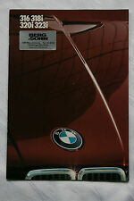 altes original Prospekt BMW 1983 316 318i 320i 323i  TOP Zustand !!