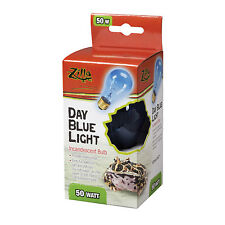 ZILLA REPTILE DAY LIGHT BLUE HEAT LAMP BULB - 50 WATT