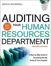 Auditing Your Human Resources Department by John H. McConnell Hardcover Book (En
