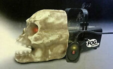 Vintage Gemmy Skull Fogger Fog Machine Halloween Decor Fog Tested Orig. Box