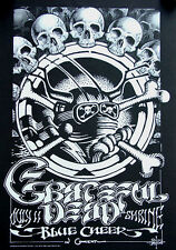 GRATEFUL DEAD Blue Cheer Shrine Auditorium LA 1968 Rick Griffin Art POSTER 15x23