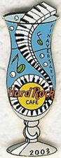 Hard Rock Cafe ONLINE 2003 Pinaversary HURRICANE GLASS PIN - HRC Catalog #16948