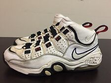 Vintage NIKE AIR MAX SUPER CB 1997 CHARLES BARKLEY White RARE !!