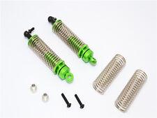 Traxxas LaTrax Teton Upgrade Parts Aluminum Front/Rear Damper - 1Pr Set Green