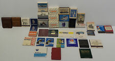 MATCHES : MATCH BOXES / MATCH BOOKS - VARIOUS TRAVEL THEMED (PM) 7