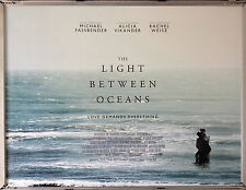 Cinema Poster: LIGHT BETWEEN OCEANS, THE 2016 (Advance Quad) Michael Fassbender