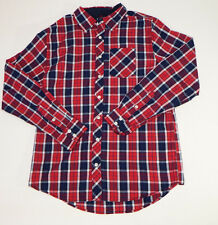 Mens Shirt Redsnap Clothing Company Red Long Sleeves Button Down Casual Size M