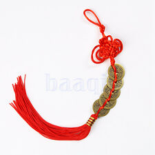 Feng Shui Chinese Coins Coin for good Luck PROSPERITY PROTECTION Charm Tassel MA