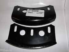 NEW JOHN DEERE PAIR OF 2 SKID SHOE RUNNERS FOR TRACTOR MOUNTED SNOW THROWERS