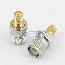 RP-SMA Female jack to RP-TNC female jack Straight RF Adapter for Antenna Router