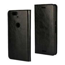 HOT Genuine Leather Flip Card Wallet Holder Phone Case Cover For HUAWEI Nexus 6P