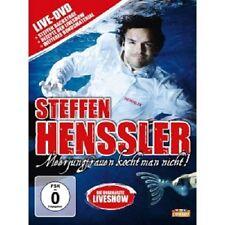 STEFFEN HENSSLER - MEERJUNGFRAUEN KOCHT MAN NICHT!-DIE LIVESHOW  DVD  NEU
