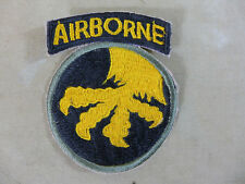 US Patch Abzeichen 17. Airborne Div. Thunder from heaven Paratrooper