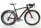 STRADALLI CAMPAGNOLO CAMPY SUPER RECORD FULL CARBON BICYCLE BIKE 11 SPEED 50 SM