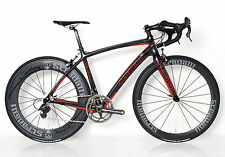 STRADALLI CAMPAGNOLO CAMPY SUPER RECORD FULL CARBON BICYCLE BIKE 11 SPEED 58 XL