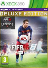 FIFA 16 -- Deluxe Edition Microsoft Xbox 360 Electronic Arts NEW NOT SEALED