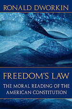Freedom Law by Ronald Dworkin, Ronald M. Dworkin (Paperback, 1997)