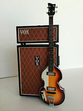Beatles Paul McCartney Hofner Bass & Vintage 1967 Vox Mini Bass Stack Amps