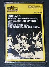 Copland Rodeo Appalachian Srping Robert Irving Seraphim 60198 New Cassette