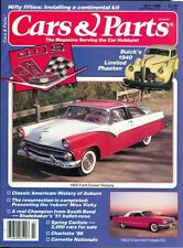 1988 Cars & Parts Magazine: 1955 Ford Crown Victoria/1963 Chevrolet Impala SS