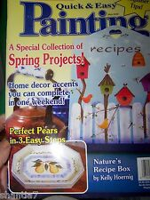 QUICK AND EASY PAINTING MAGAZINE MAY 2000 TOLE PAINT STEP BY STEP