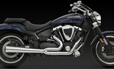 YAMAHA XV 1700 WARRIOR PRO PIPE HS 2 INTO 1 EXHAUST (Vance and Hines 25505)