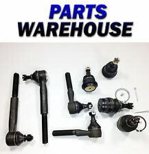 8Pc New Ball Joints & Tie Rod End Kit - Dodge Ram 1500 1997-1999 1 Year Warranty