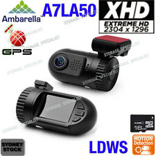 Ambarella Dash Camera A7 GPS 1296P mini 0805 0803 0801 In Car Blackbox Crash cam