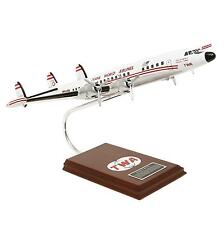 TWA Lockheed L-1049G Super Constellation Desk Display Model 1/72 ES Airplane