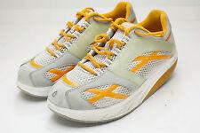 MBT 10 Gray Orange Walking Shoes Women's