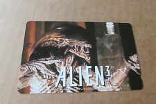 ALIEN 3 WEAVER MONSTER ON MINT UNUSED  PHONECARD FROM JAPAN (285)