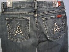 7 For All Mankind A pocket boot cut jeans size 27 (w29 x 32 1/2)