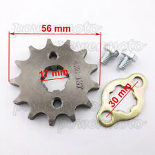 428mm 17mm 13 Tooth Engine Drive Front Sprocket Gear For Chinese ATV Pit Bike